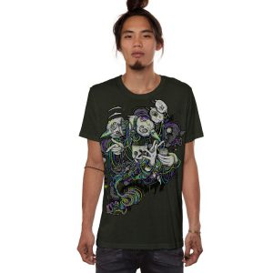 T-Shirt Switcher Olive Melange